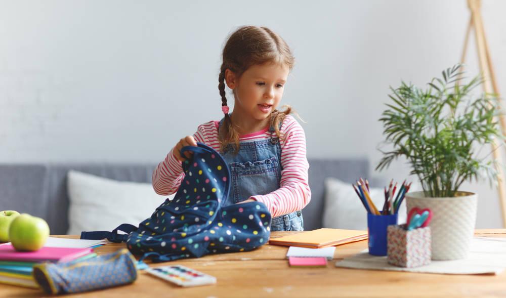 إعداد الطفل للسنة الأولى له في المدرسة