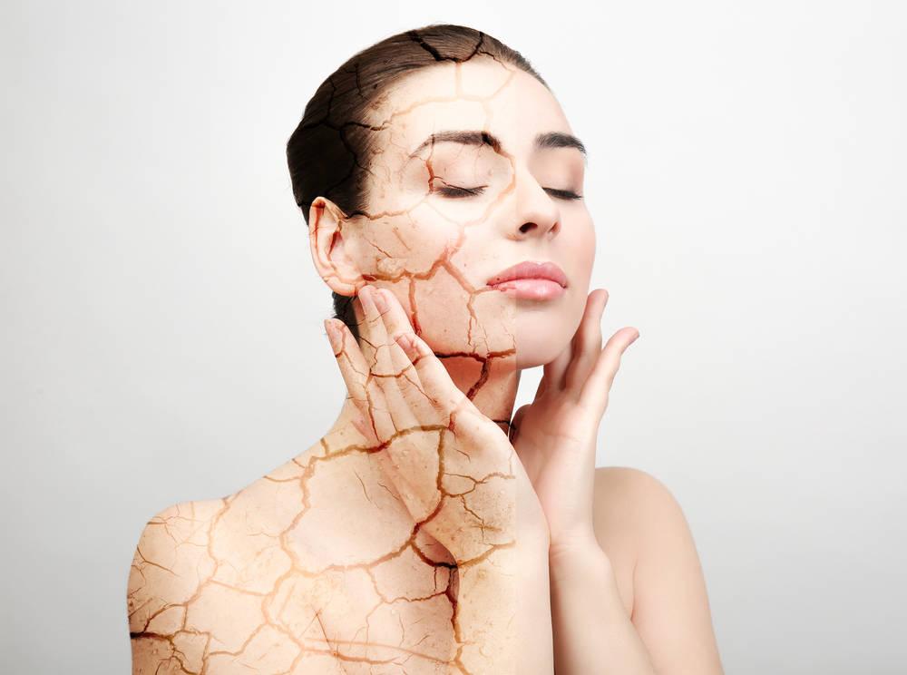 اعراض و علاج جفاف الجلد