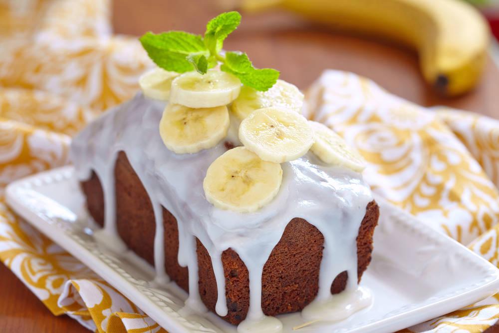 طريقة عمل كيكة الموز بالنوتيلا