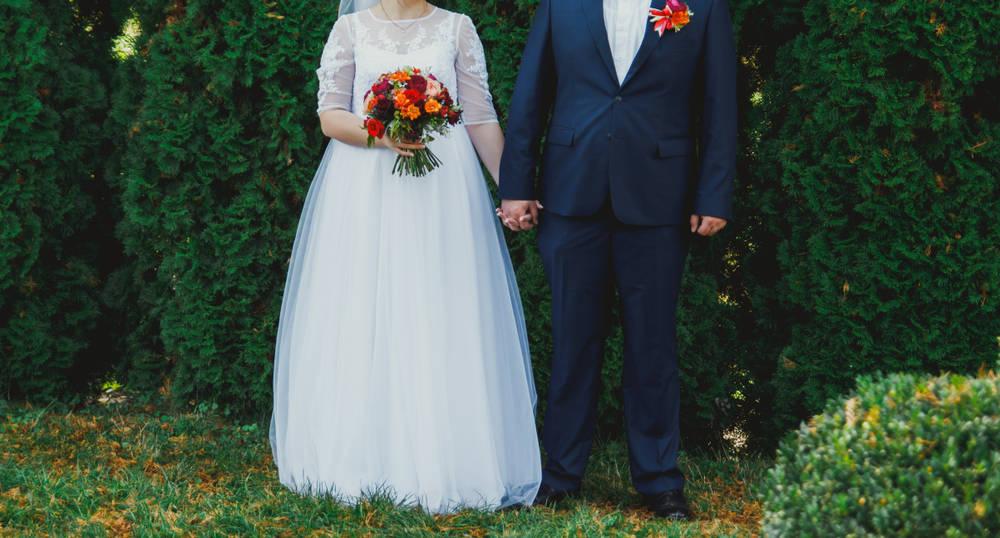 فساتين زفاف لأصحاب الجسم الكرفي