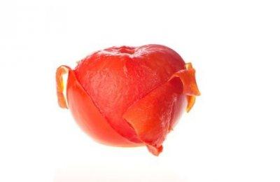 بعلامهX قشري الطماطم بسهوله