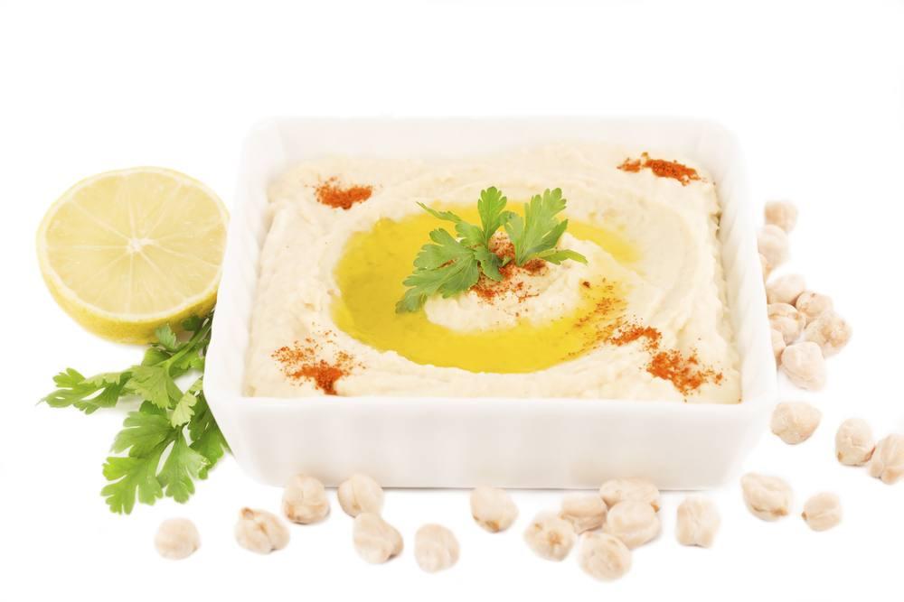 سلطة الحمص من المطبخ اللبناني