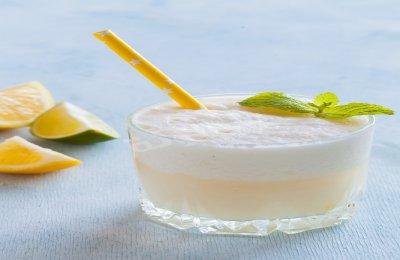 طريقه عمل عصير الليمون باللبن للدايت