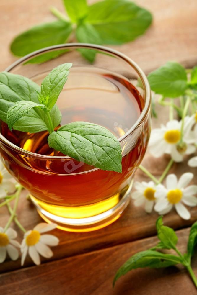 طريقة عمل شاي البابونج والنعناع