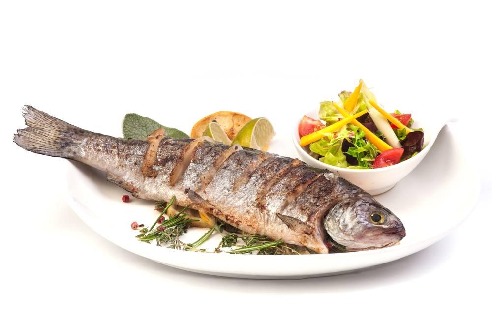 طريقة عمل سمك بوري مشوي صحي مقرمش