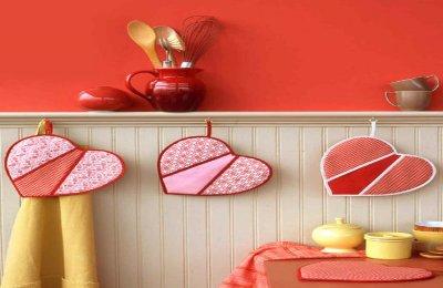 بالصور  زيني مطبخك في عيد الحب