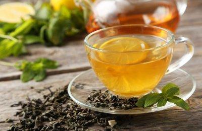 طريقه عمل شاي اخضر بالليمون للدايت