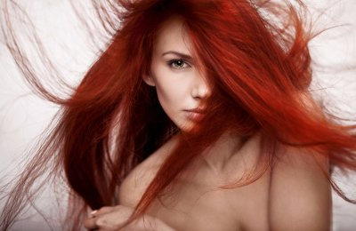 احصلي علي شعر احمر بمواد طبيعيه من المنزل