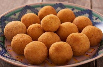 كرات البطاطس المقليه  وصفه صيامي