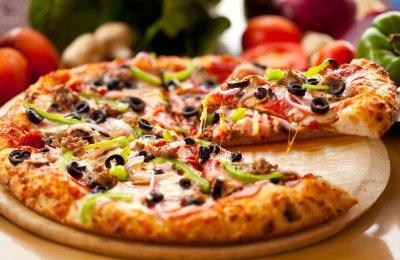 بيتزا الخضروات