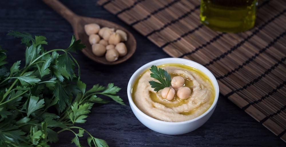 بيوريه الحمص بزيت الزيتون من المطبخ السوري
