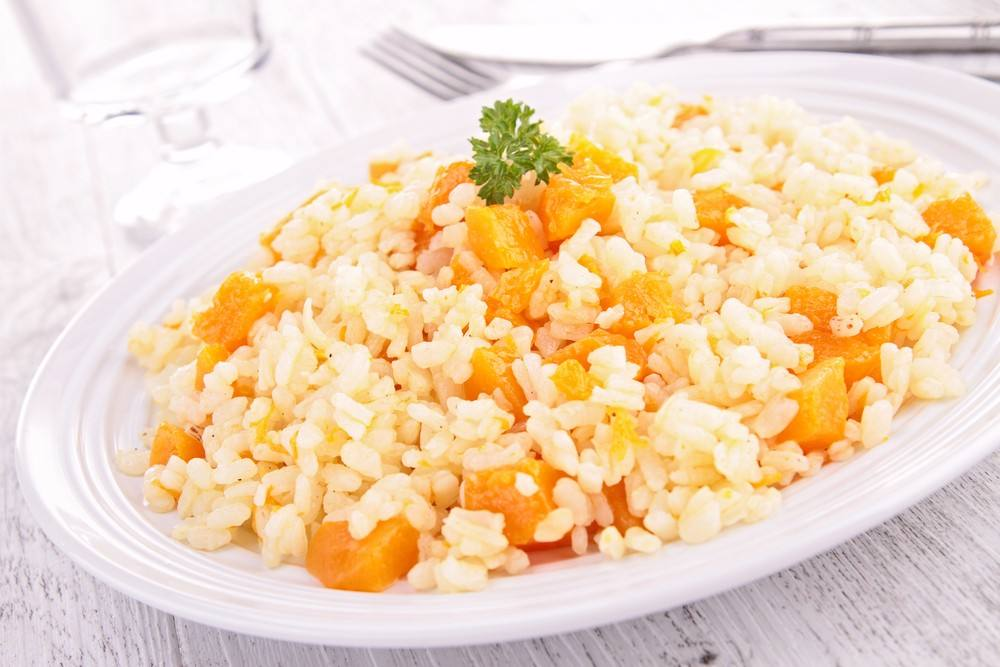 طريقة عمل أرز بالقرع العسلي