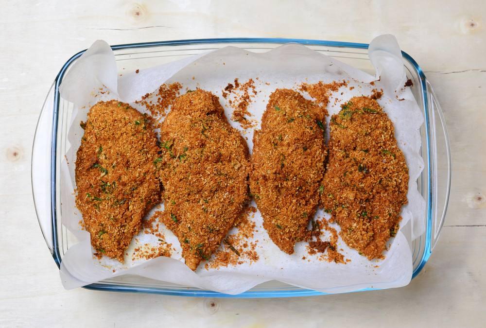 اعداد صدور الدجاج بالكورن فليكس