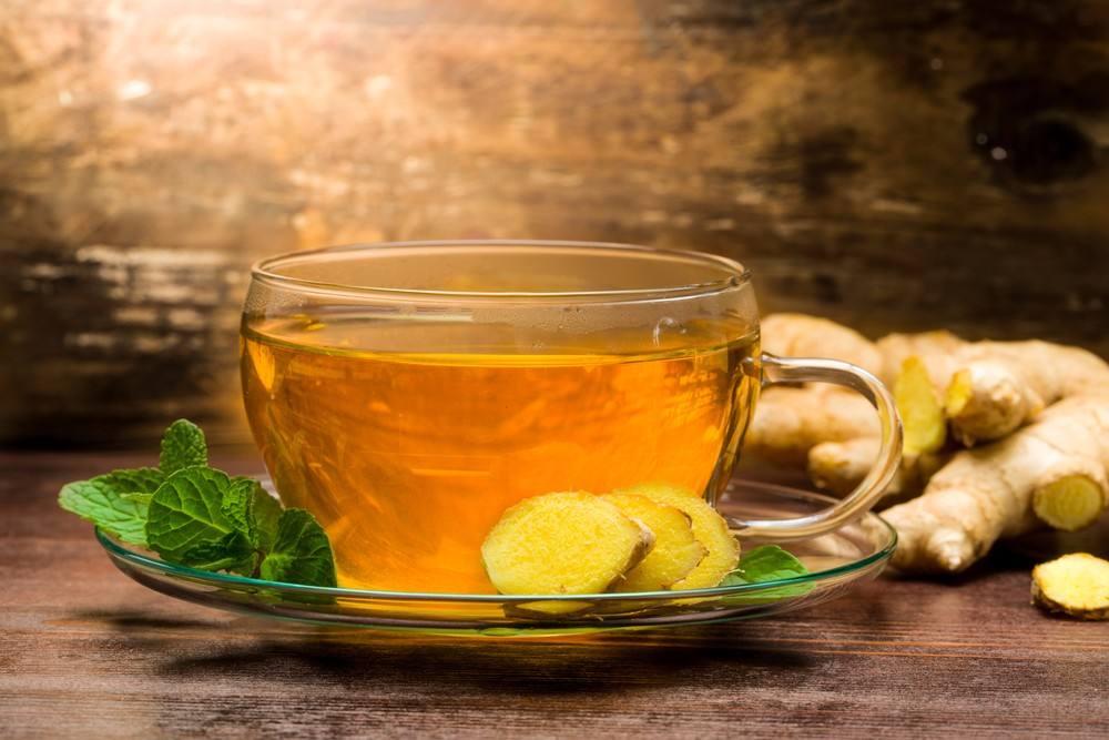 شاي الزنجبيل بالنعناع .. يساعد على الشعور بالدفء