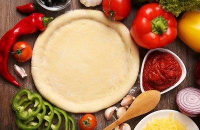 طريقه عمل عجينه البيتزا الايطالي