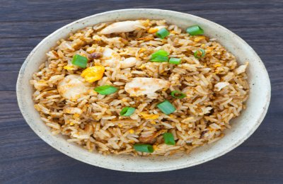 ارز بسمتي مبهر بقطع الدجاج  شهي ولذيذ