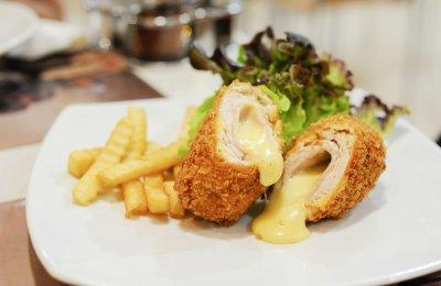 طريقه عمل رول الدجاج بالجبن و المشروم