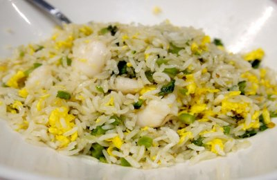 طريقه عمل ارز مقلي بالبيض للدايت