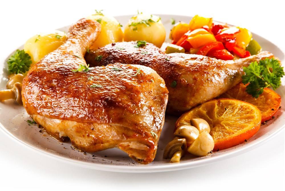 طريقة عمل دجاجة محمرة