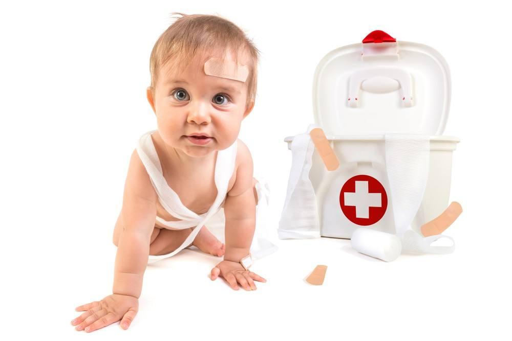 دليل الإسعافات الأولية للأطفال