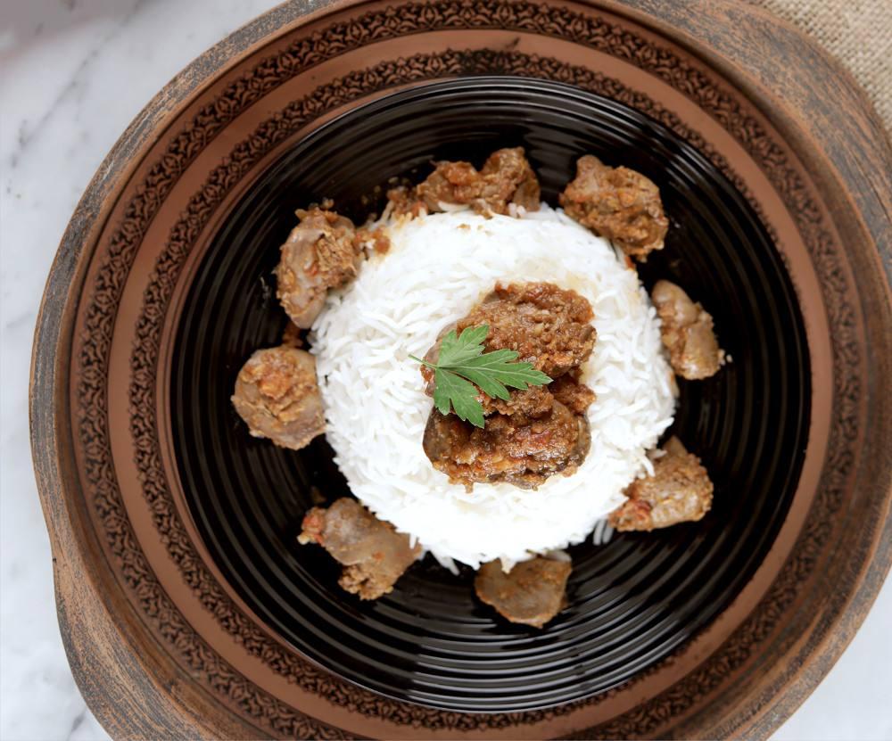 طريقة عمل أرز بكبدة الدجاج
