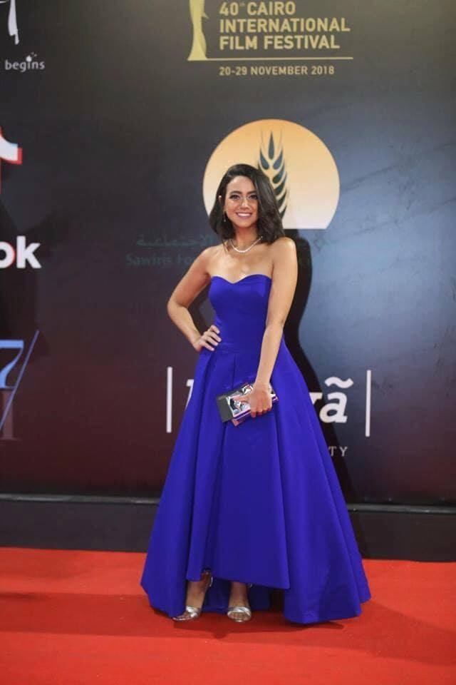 امينة خليل بمهرجان القاهرة السينمائي