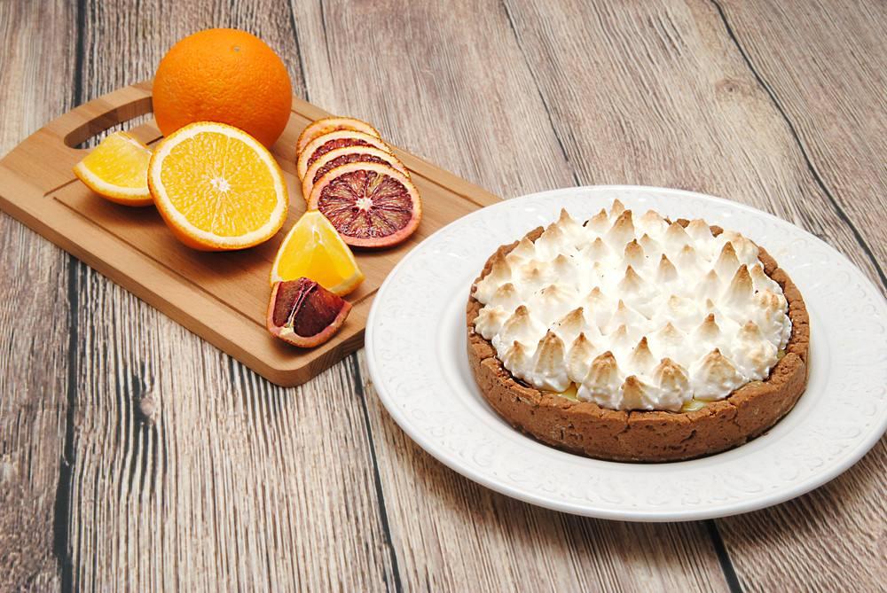 طريقة عمل فطيرة المارنج والبرتقال