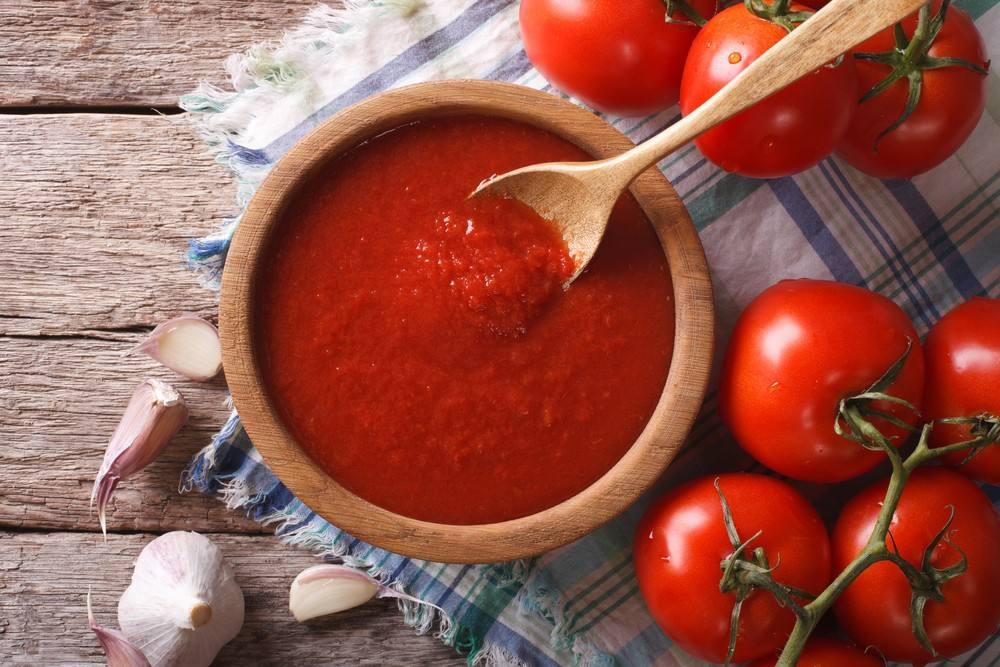 صلصة الطماطم الباردة