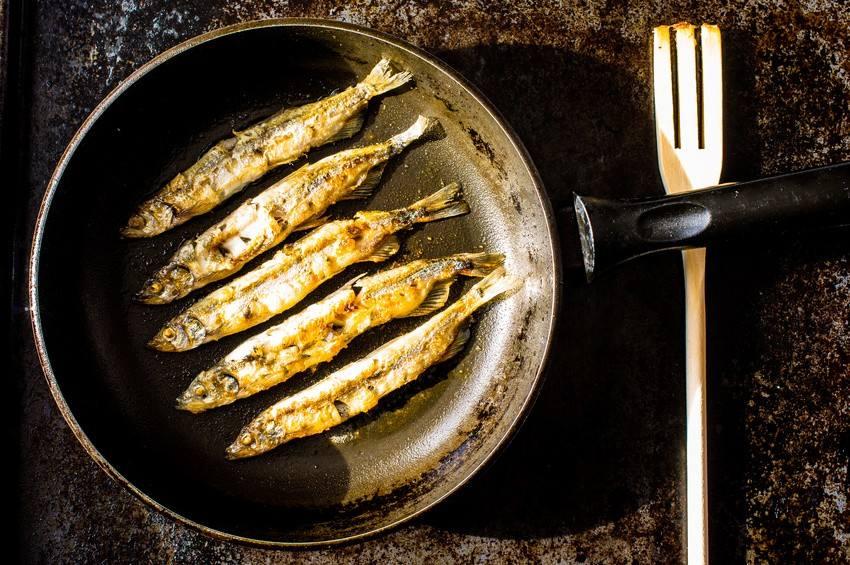 رائحة قلي السمك