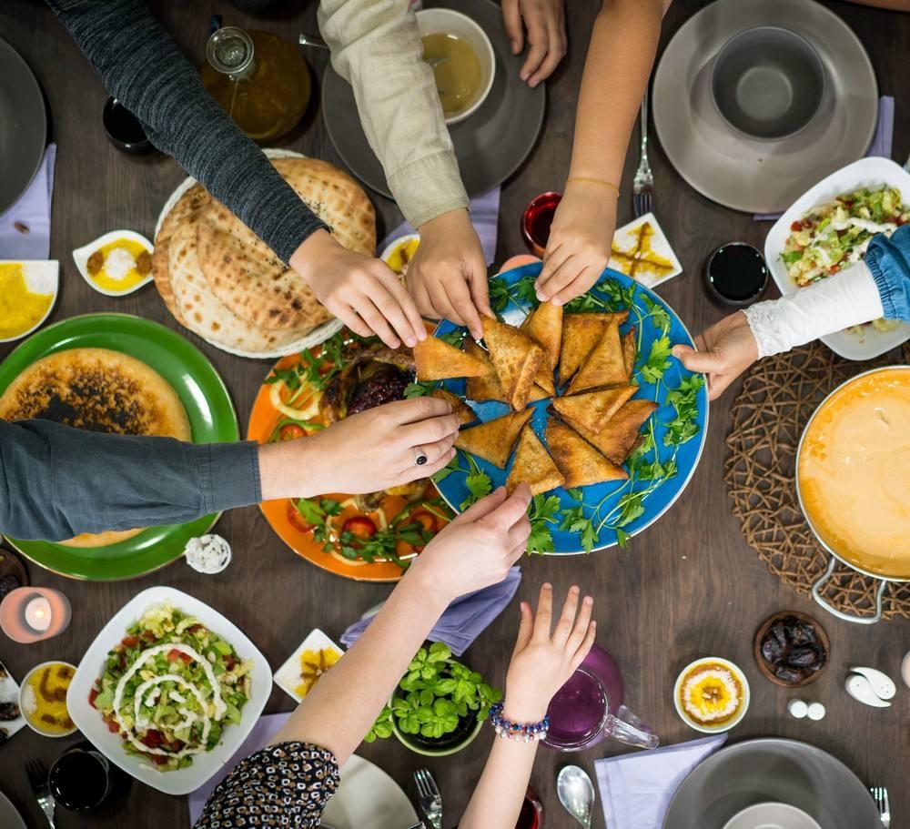 السعرات الحرارية للأكلات الرمضانية