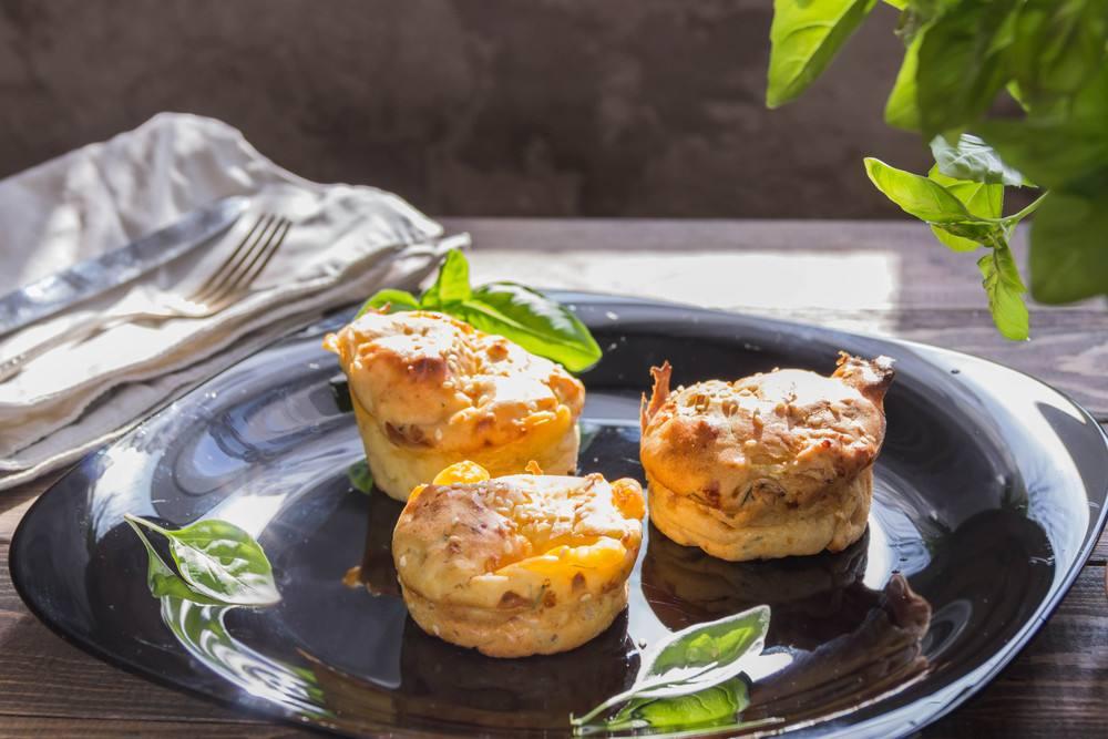طريقة عمل مافن البطاطا بالجبنة