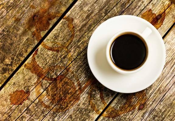بقع القهوة