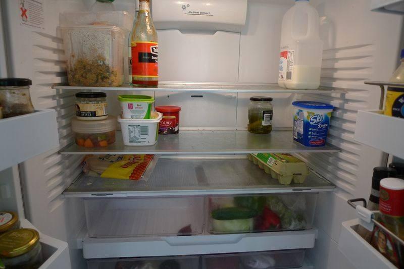 برودة الثلاجة