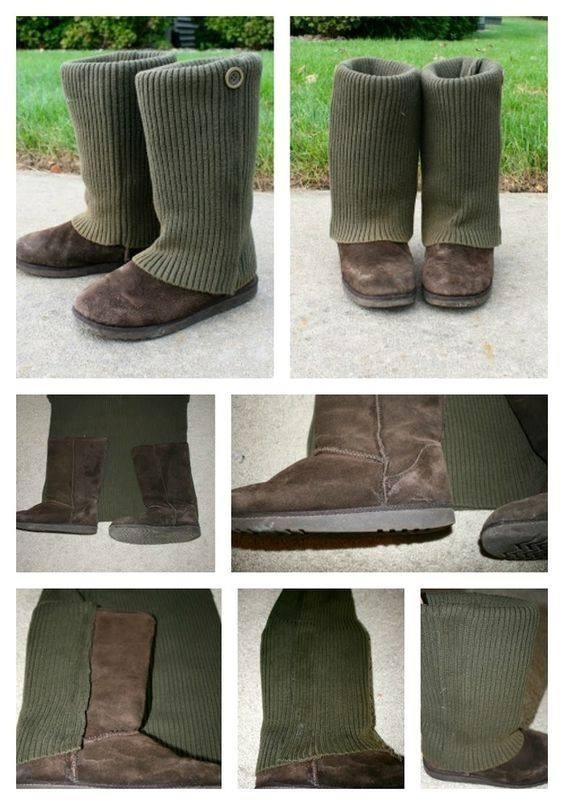 أفكار لإستغلال ملابس الشتاء القديمة على طريقة 2019