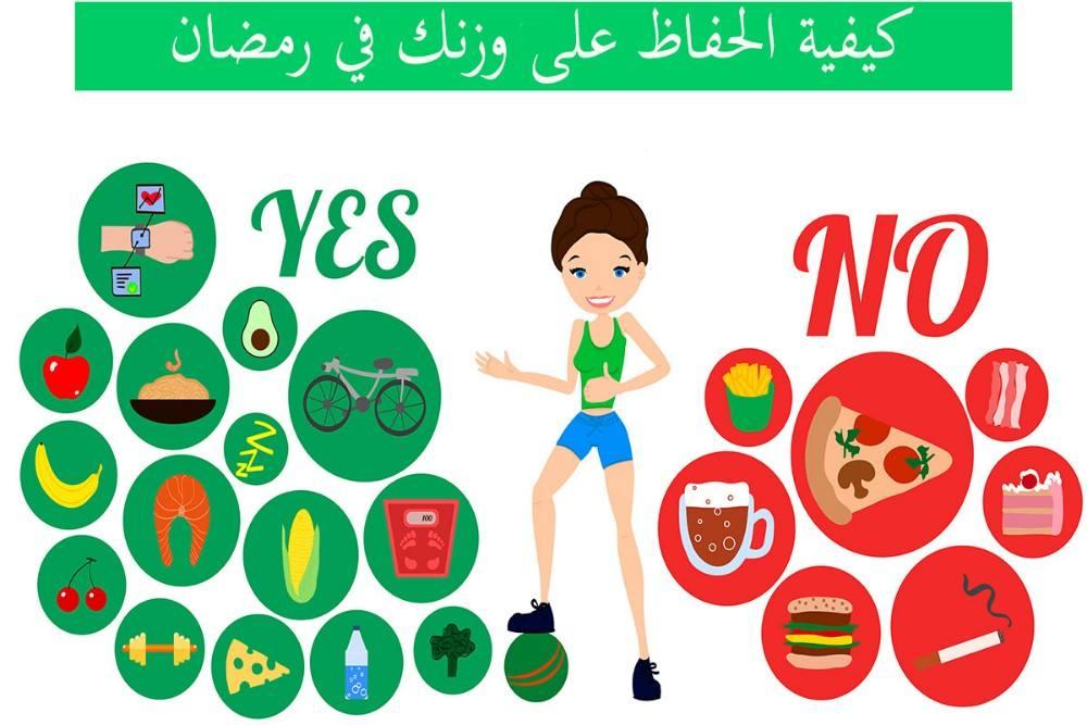 13 نصيحة صحية غذائية لشهر رمضان الكريم